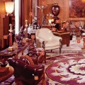 GRAND SALON, 1976: Architectural Digest shot the couple's apartment in 1976.