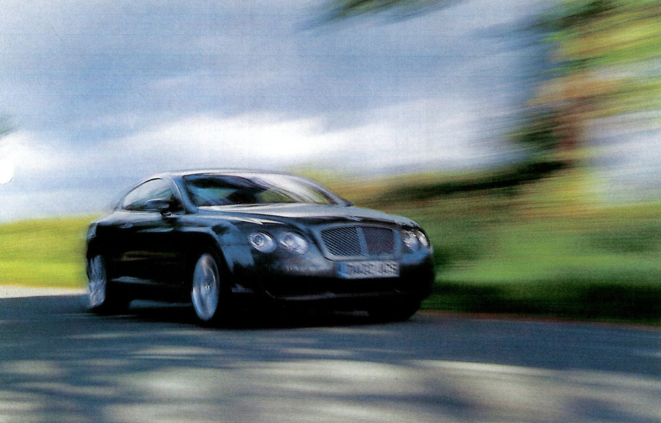 The Bentley Continental Gt